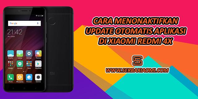 Cara Menonaktifkan Update Otomatos Aplikasi di Xiaomi