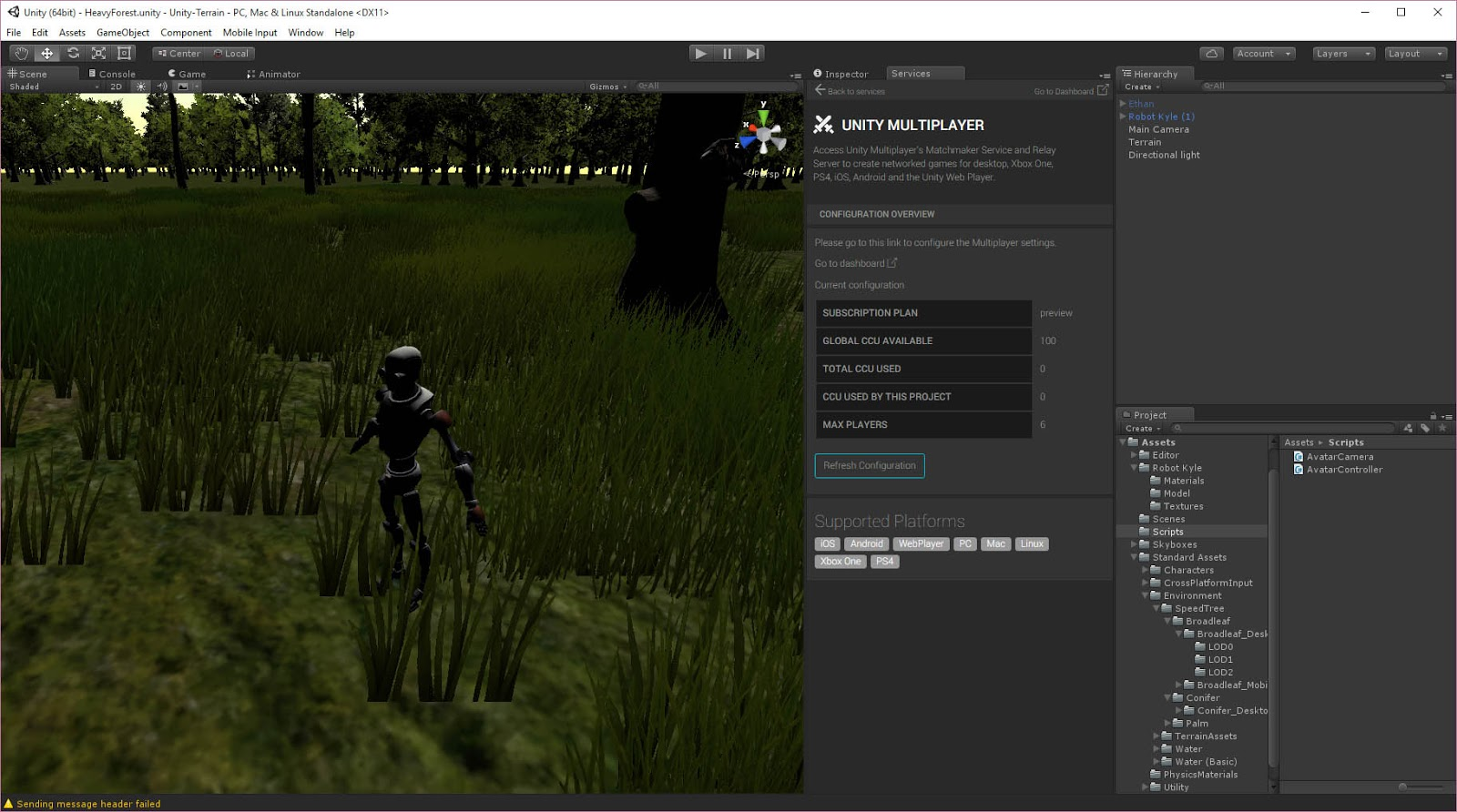 Of Course I'll Play It: Unity3D At Home Project - Day 6
