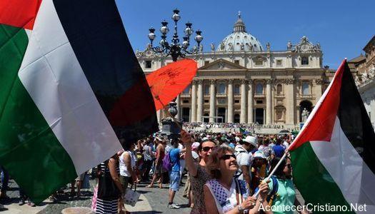 El Vaticano reconoció a Palestina