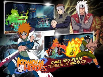 Konoha Heroes Online v2.14.060 Apk Terbaru