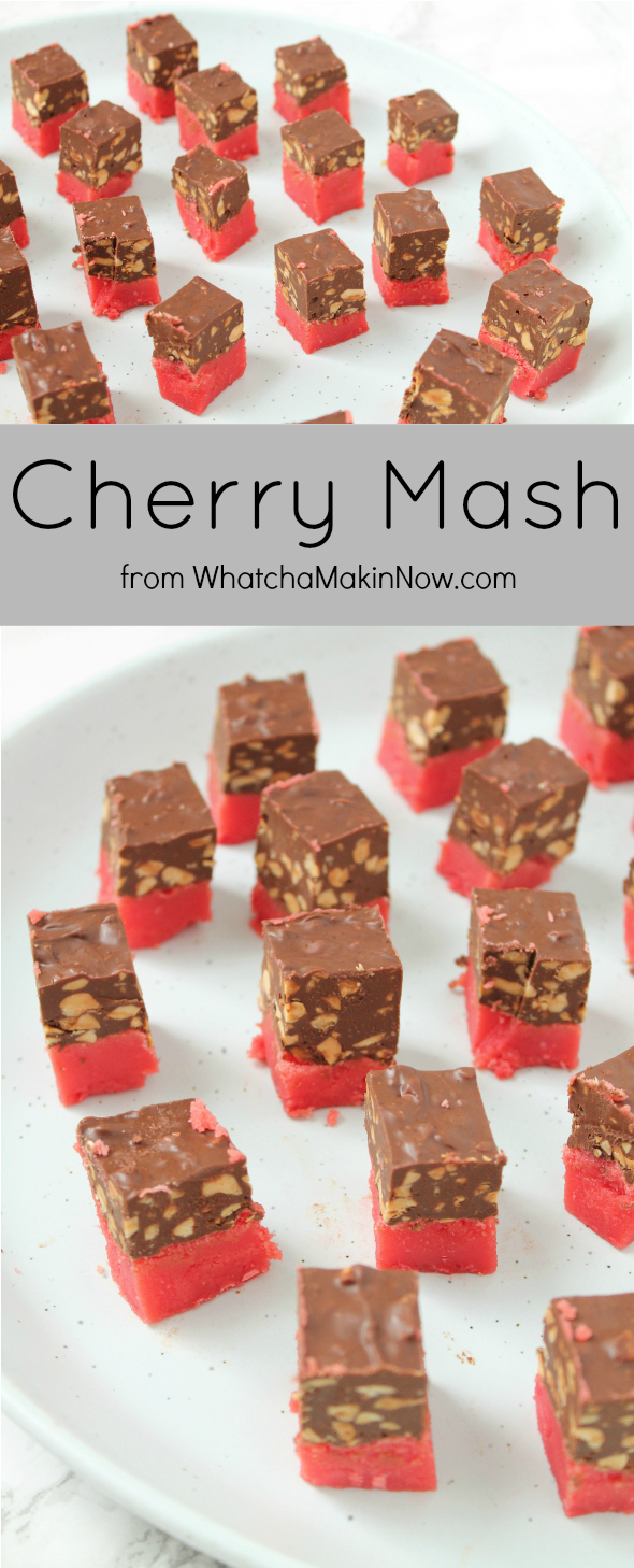 Family recipe for Cherry Mash - a must for Christmas or any party!