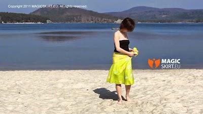 2 Pareos por la playa de paseo