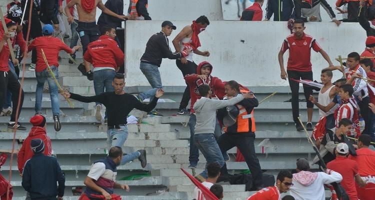عاجل   شاهد ما يحدث الآن في ملعب مولاي عبد الله بعد نهاية مباراة الوداد و الزمالك