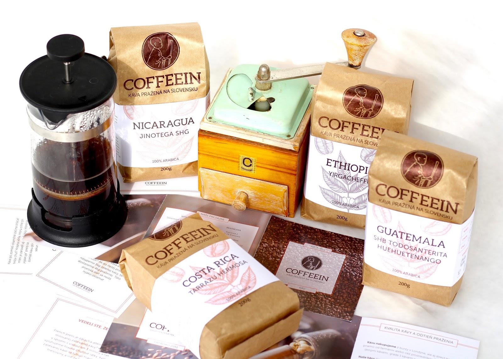 coffein káva