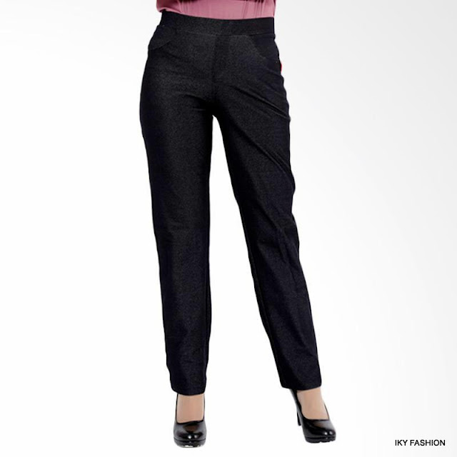 model Celana Straight cewek kekinian