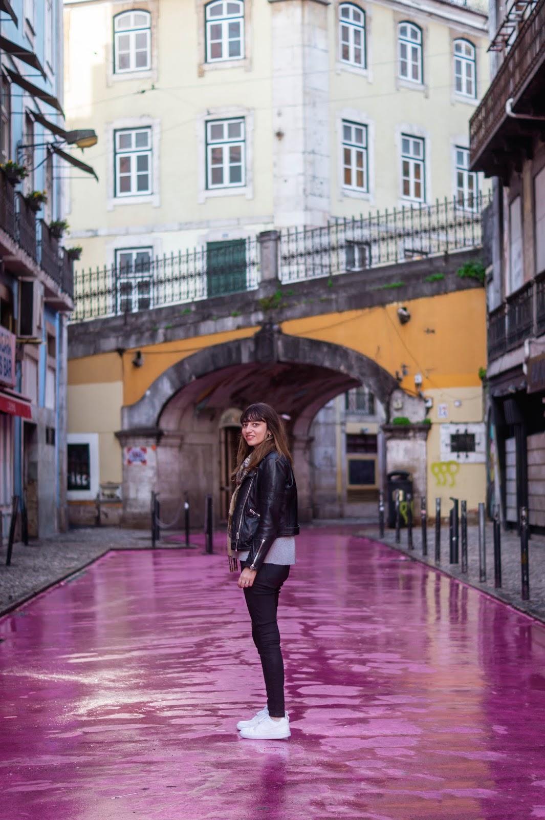 rue rose Lisbonne