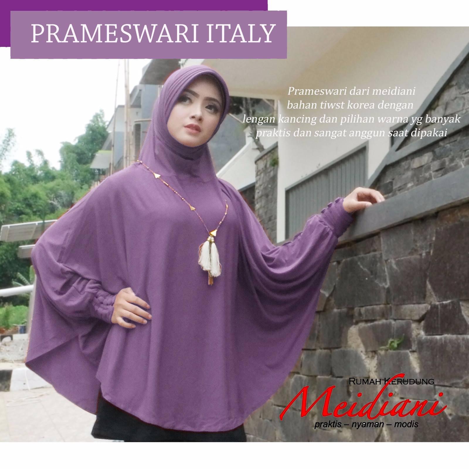 Jilbab Syari Prameswari Italy