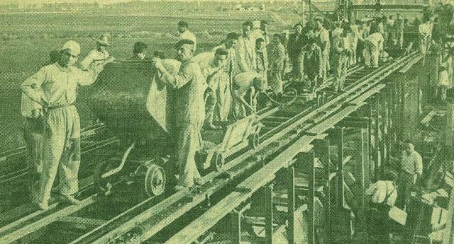 """El """"Canal de los Presos"""" (1939-1962)"""