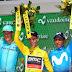 Nairo Quintana, tercero en la Vuelta a Suiza