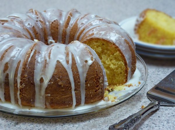 Duncan Hines Apricot Nectar Cake