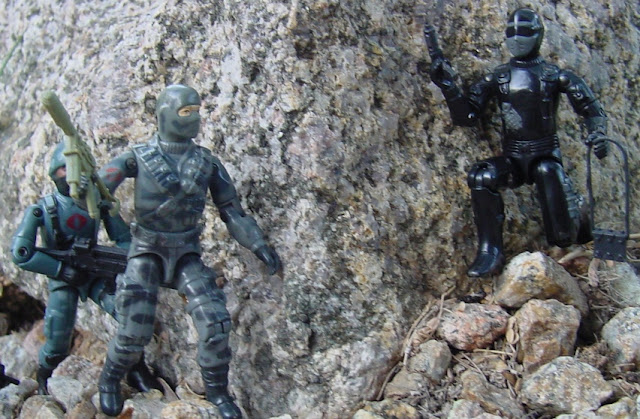 Action Force Stalker, Snake Eyes, European Exclusive, Palitoy, 1984 Firefly, 2005 Night Watch Trooper