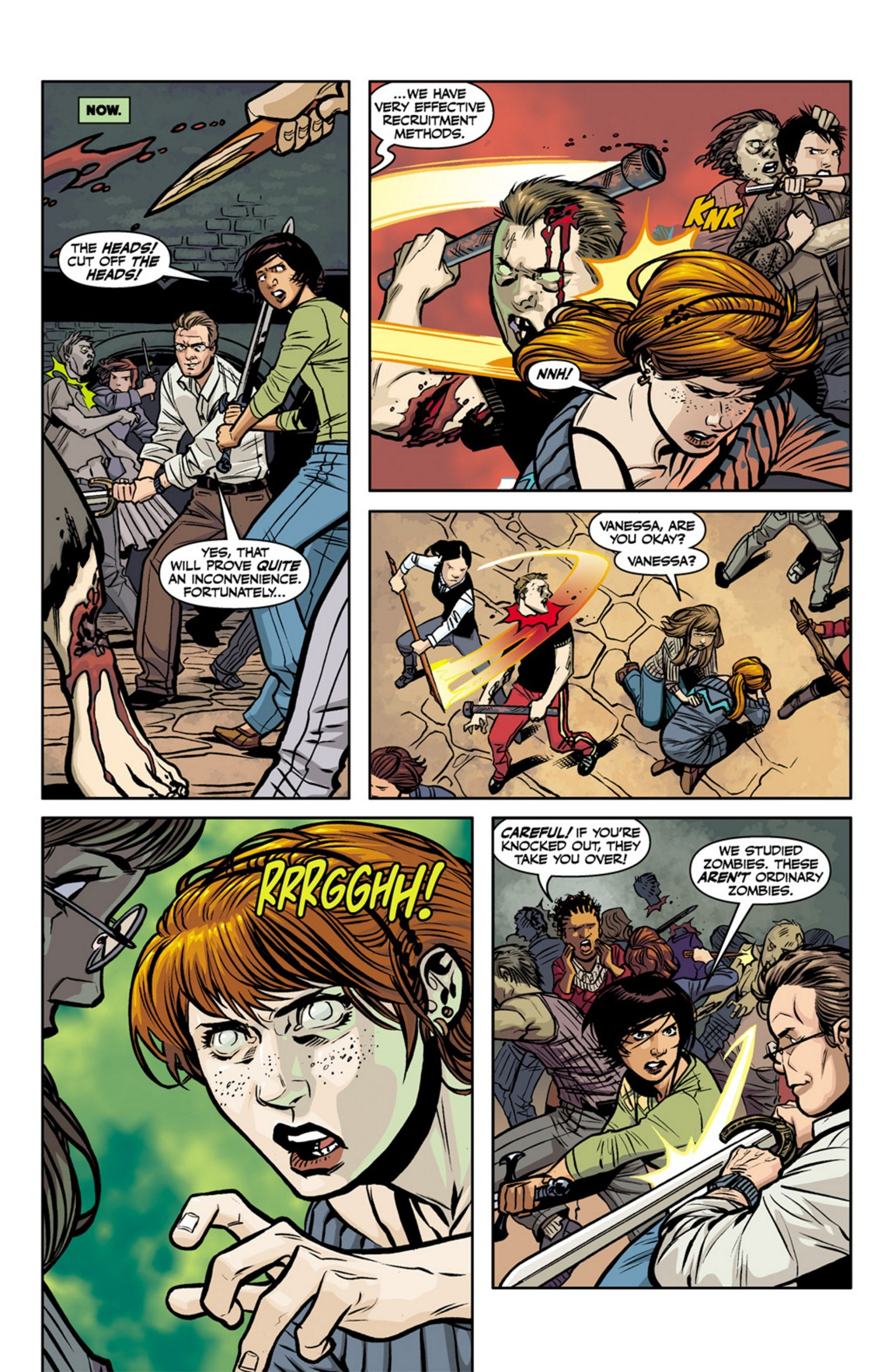 Read online Angel and Faith comic -  Issue #17 - 24