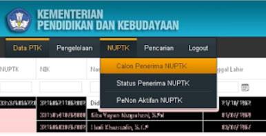 Cara Mengetahui Daftar Calon NUPTK Online Dapodik