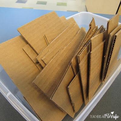 Tips and tricks for using cardboard in STEM class. This post includes close up views of 3-D models of cardboard techniques and how to make them. Create your own Cardboard Techniques poster using these tips!