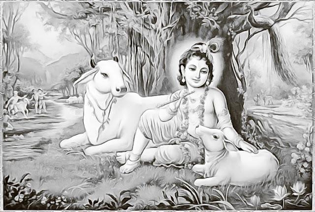Janmashtami Drawing Images