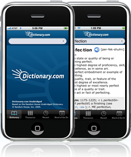 Use iPhone as Dictionary