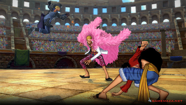 One Piece Burning Blood Gameplay Screenshot 3
