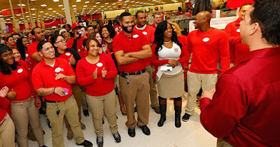 Target store employees