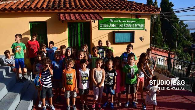 Αργολίδα: Οι μαθητές πήγαν και σήμερα στο κλειστό σχολείο των Μύλων (βίντεο)