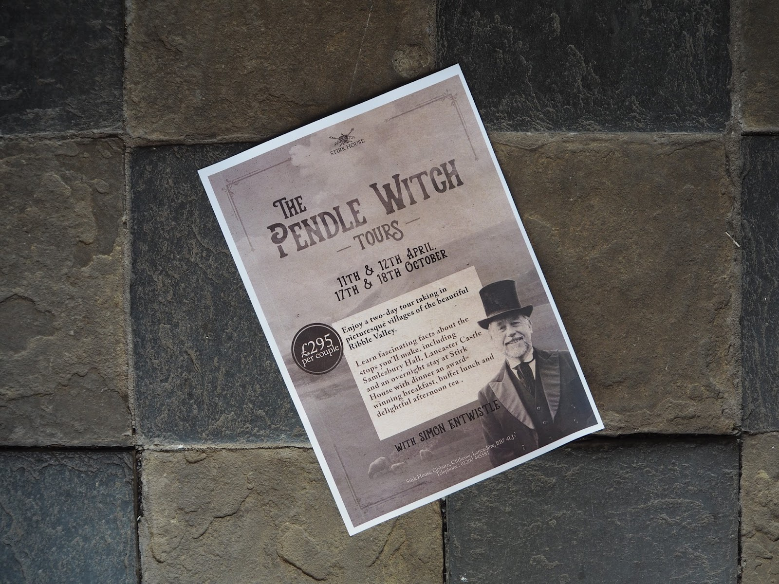 Stirk House Gisburn, Pendle Witch Tours, village of Downham