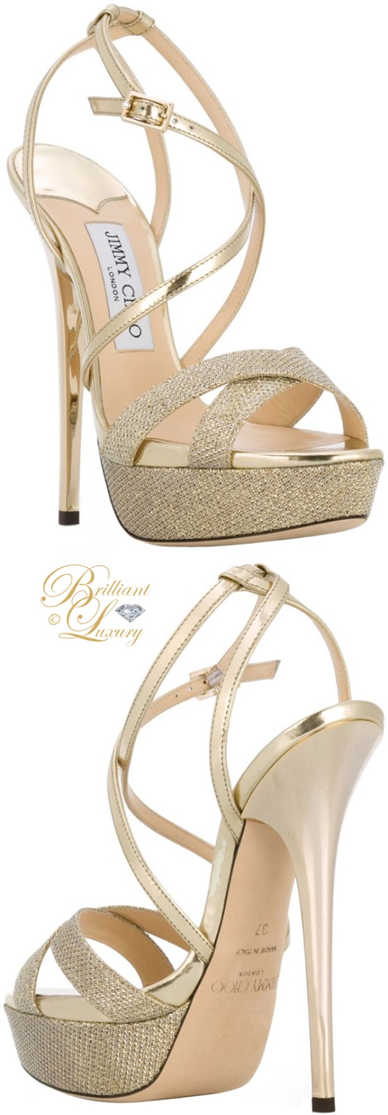 Brilliant Luxury ♦ Jimmy Choo Liddie platform sandals