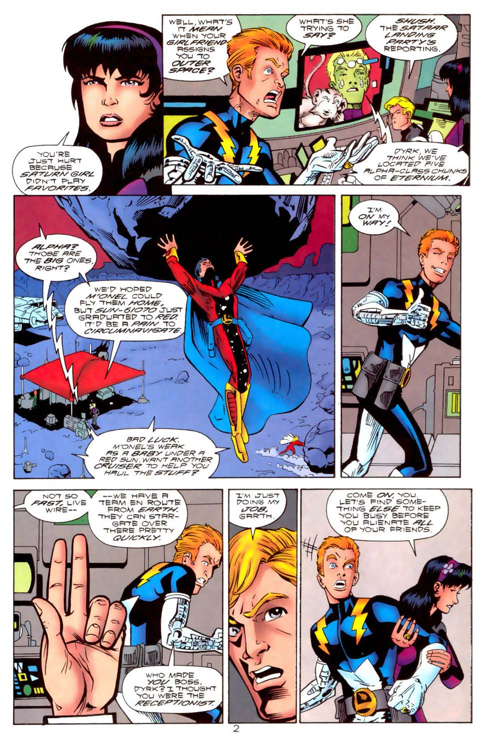 Legion of Super-Heroes (1989) 111 Page 2