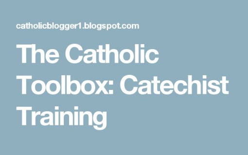 Most Dioceses And Or Parishes Require Some Kind Of Catechist Training Before They Can Teach A Class Each Year By Providing Assistance To All