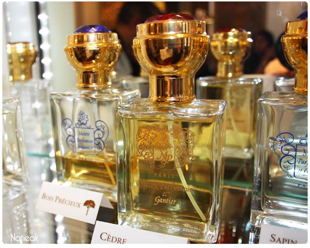 Parfum d'ambiance à pulvériser Maître Parfumeur et Gantier