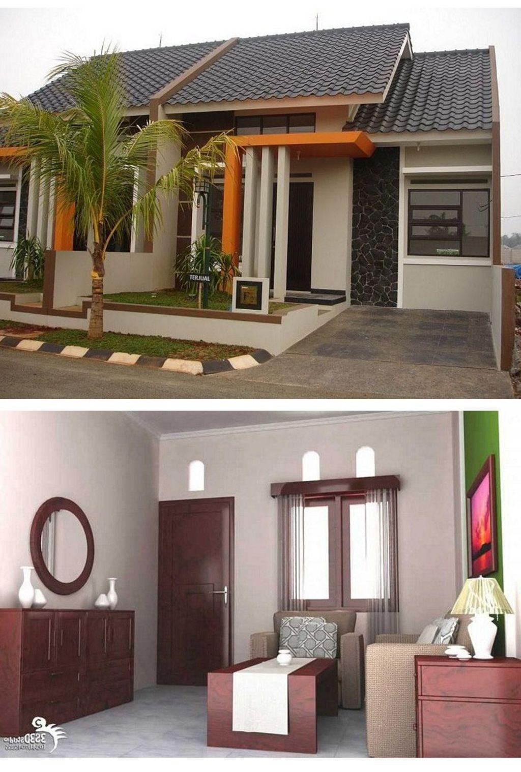 desain rumah minimalis mungil modern