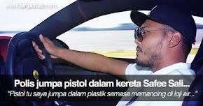 Thumbnail image for Polis Jumpa Pistol Dalam Kereta Safee Sali