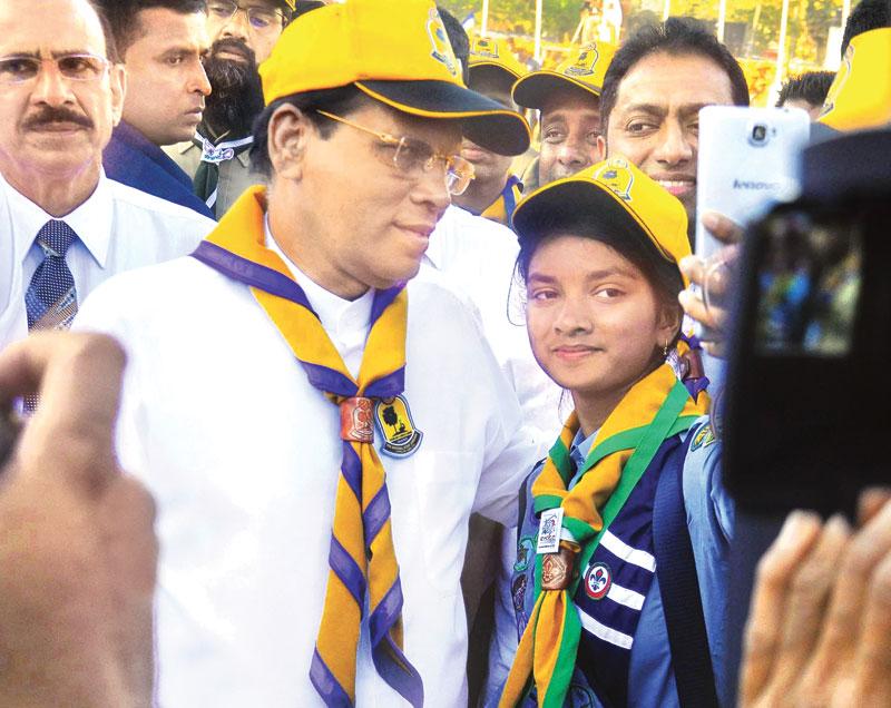 Scouting Magazine Sri Lanka Selfie At 9th National