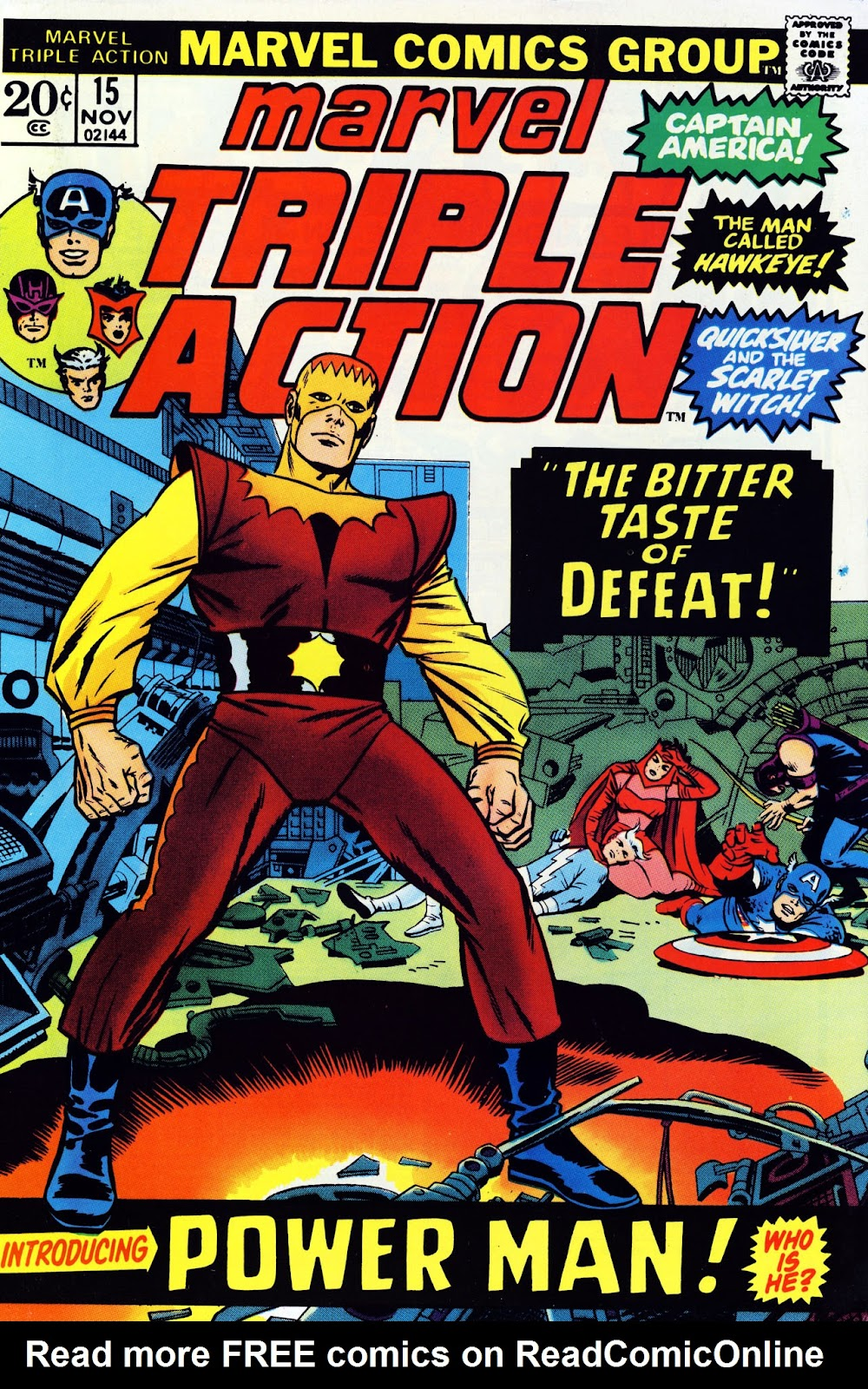 Marvel Triple Action (1972) issue 15 - Page 1
