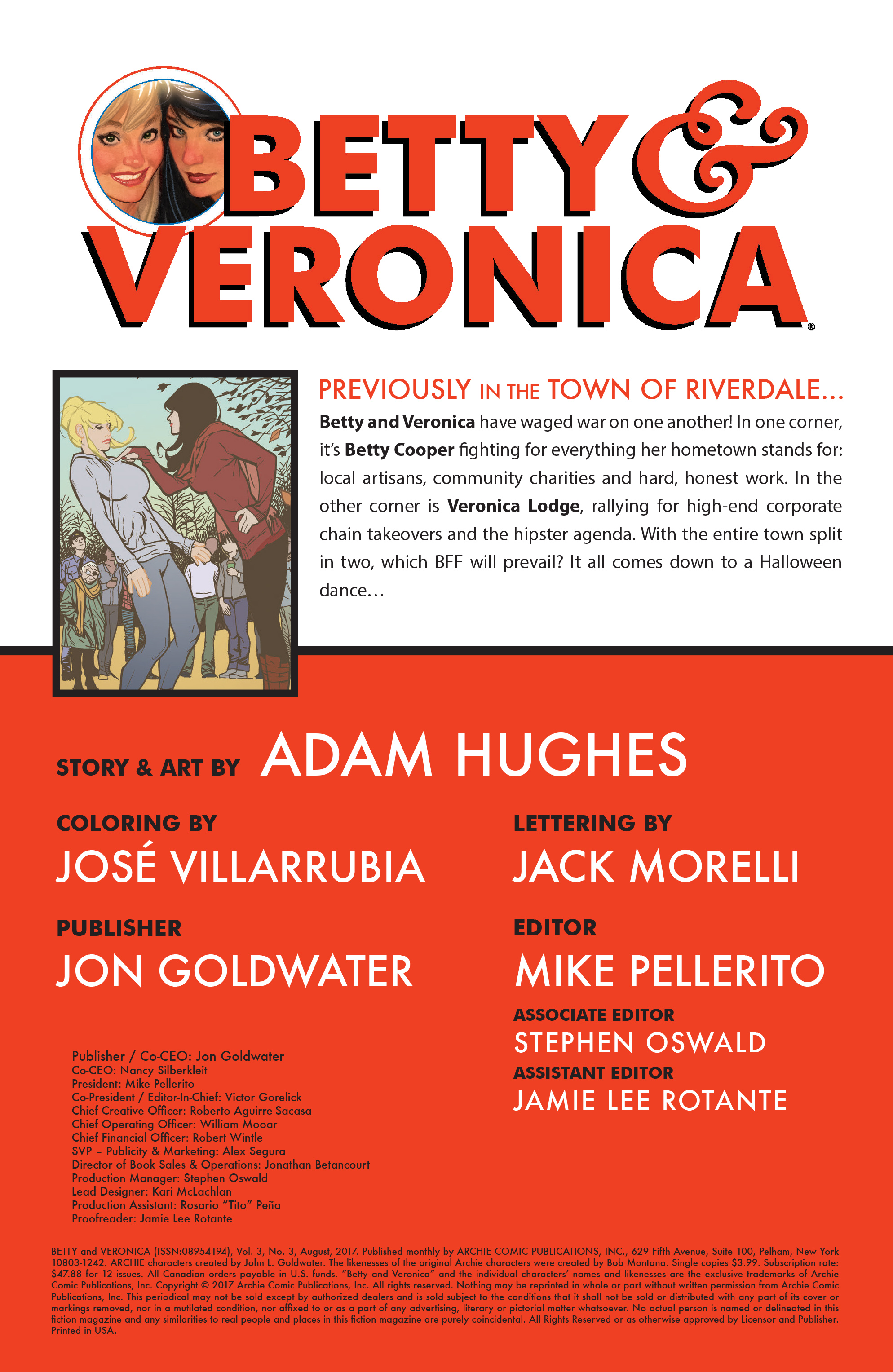 Read online Betty and Veronica (2016) comic -  Issue #3 - 2