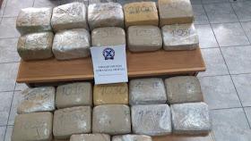 Συνελήφθησαν με 28 κιλά κάνναβη στην Κορινθία