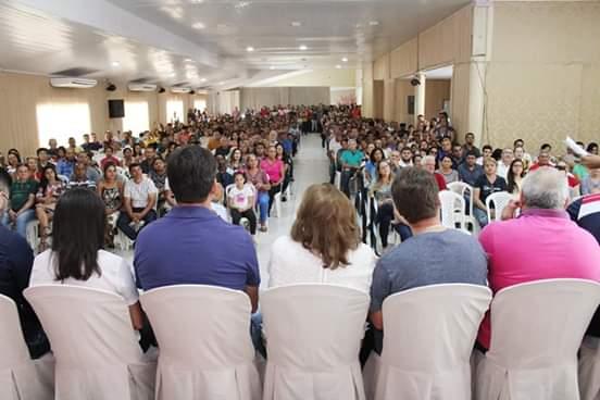 CASA CHEIA - Cleide Coutinho emociona a todos com agradecimentos aos eleitores caxienses