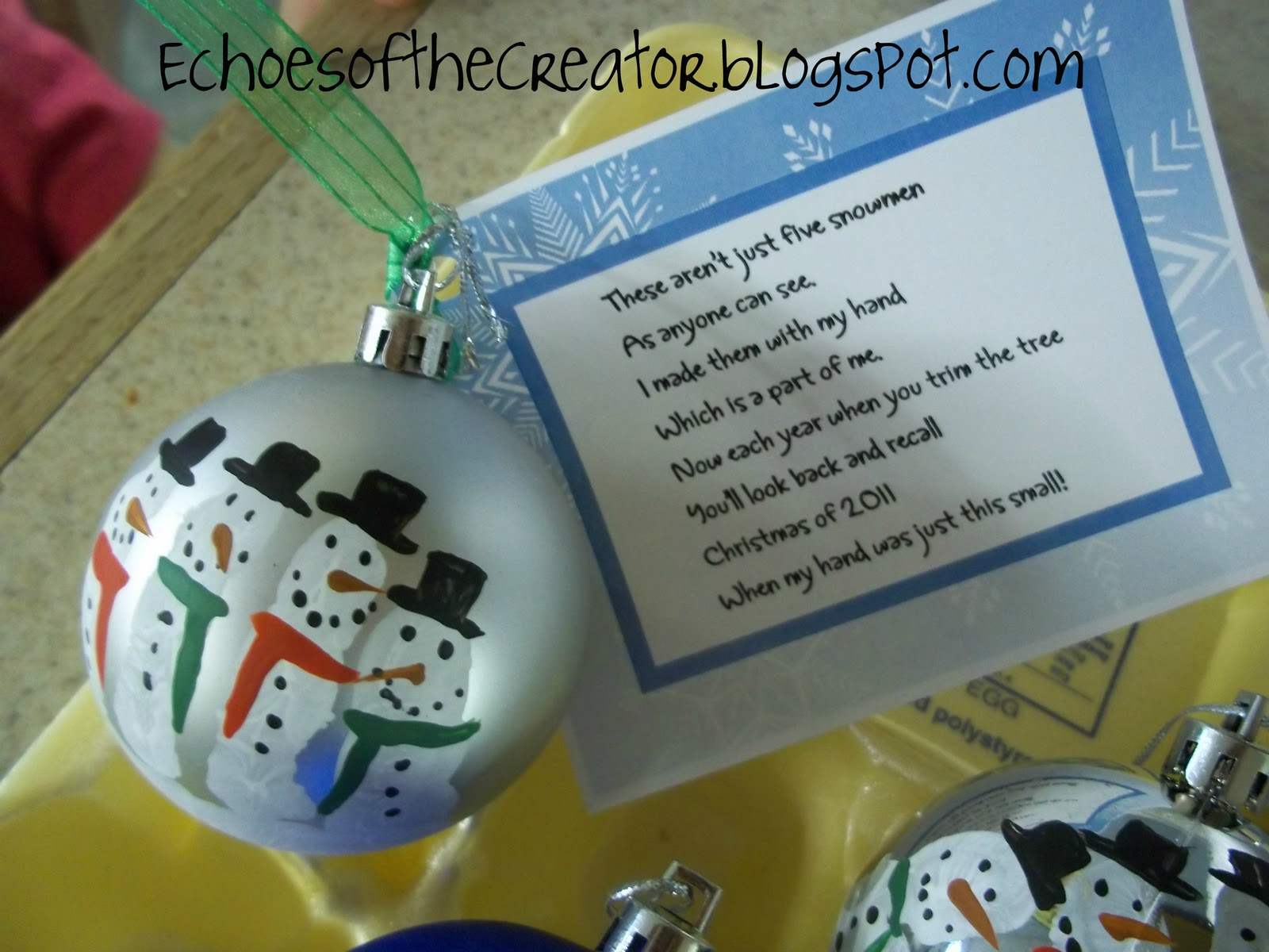 Echoes of the Creator: A Preschool Christmas...