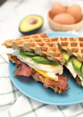 Keto Homemade: Waffle Breakfast Sandwiches Recipe