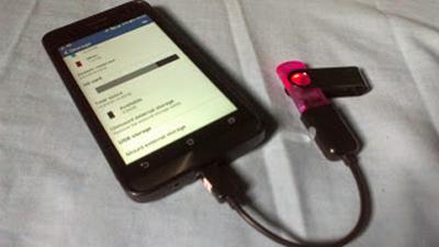 Cara Agar Membuat Android Menjadi Suport Fitur USB OTG ( On The Go )