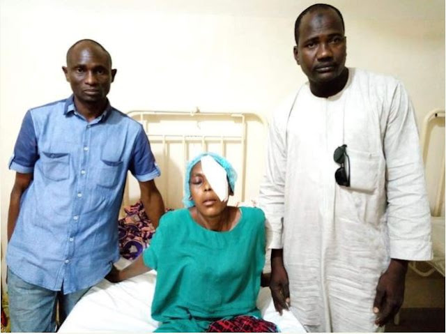 APC Thugs Pluck Out Woman's Eyes Over Kano Election For Supporting Kwankwaso?