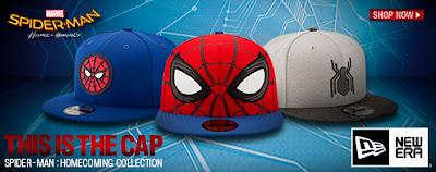 Spider-Man Homecoming Hat Collection by New Era Cap x Marvel Comics