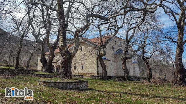 St. Dimitrij church, Magarevo village, Bitola municipality, Macedonia