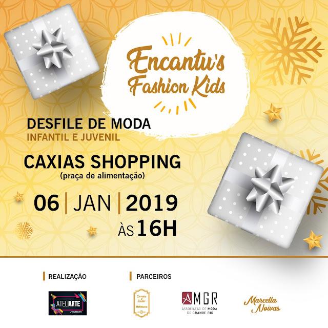 Caxias Shopping terá desfile de moda gratuito 'Encantu's Fashion Kids' 2