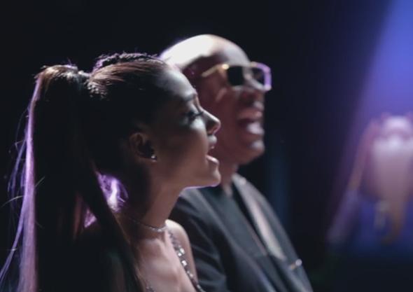 アリアナ・グランデ(Ariana Grande) & Stevie Wonder(スティーヴィー・ワンダー) Debut 'Faith' Duet Music Video