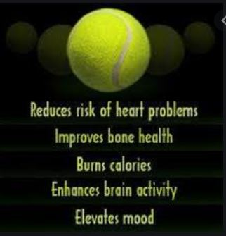 HEALTH BENEFITS OF PLAYING TENNIS - check this out