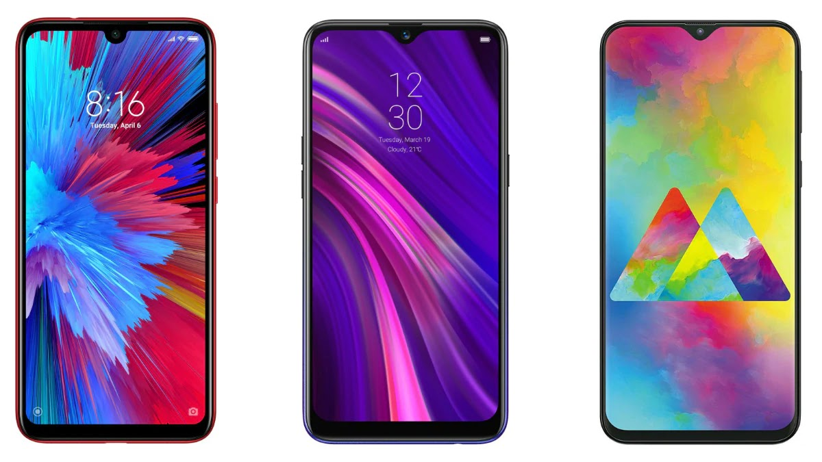 Redmi Note 7S vs Realme 3 vs Samsung Galaxy M20 Price