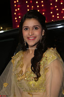Mannara Chopra in lovely Ghagra Choli Transparent Chunni at Zee Telugu Apsara Awards 2017 14.JPG