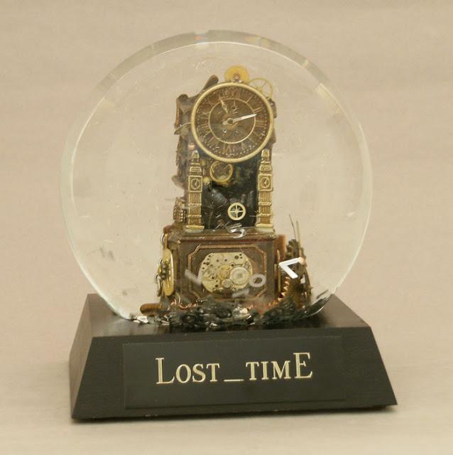 Lost Time Snow globe