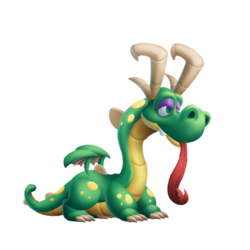 Goofy Dragon (Teen)