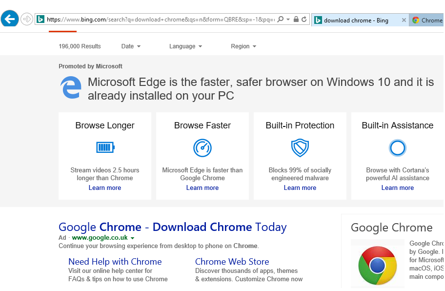 Install and use Microsoft Edge Browser on Windows Server 2016