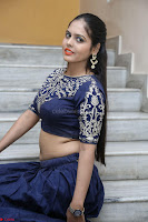 Ruchi Pandey in Blue Embrodiery Choli ghagra at Idem Deyyam music launch ~ Celebrities Exclusive Galleries 042.JPG